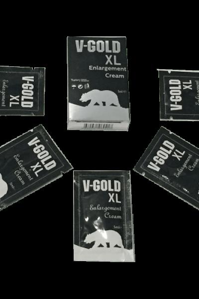V Gold Erkeklere Özel Krem 5x5 Ml