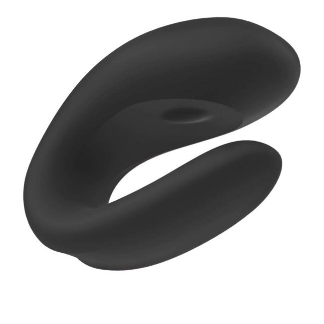 Satisfyer Double Joy Siyah Telefon Kontrol Çiftlere Özel Vibratör