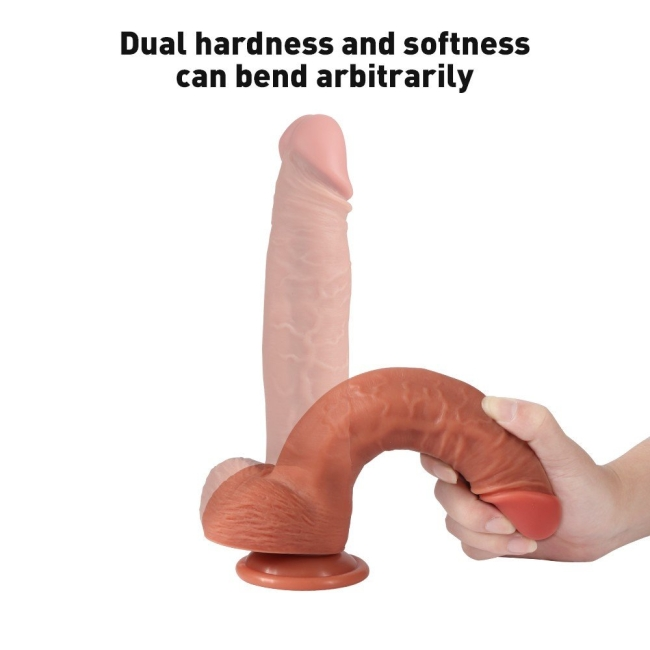 Dildo Series 23 Cm Ekstra Yumuşak Özel Silikon Dokuda Realistik Penis