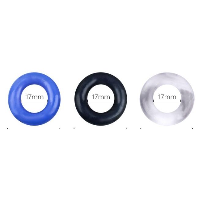 3 Farklı Renkte Süper Esnek Penis Halkası