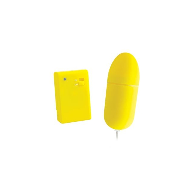 Neon Remote Control Bullet Yellow
