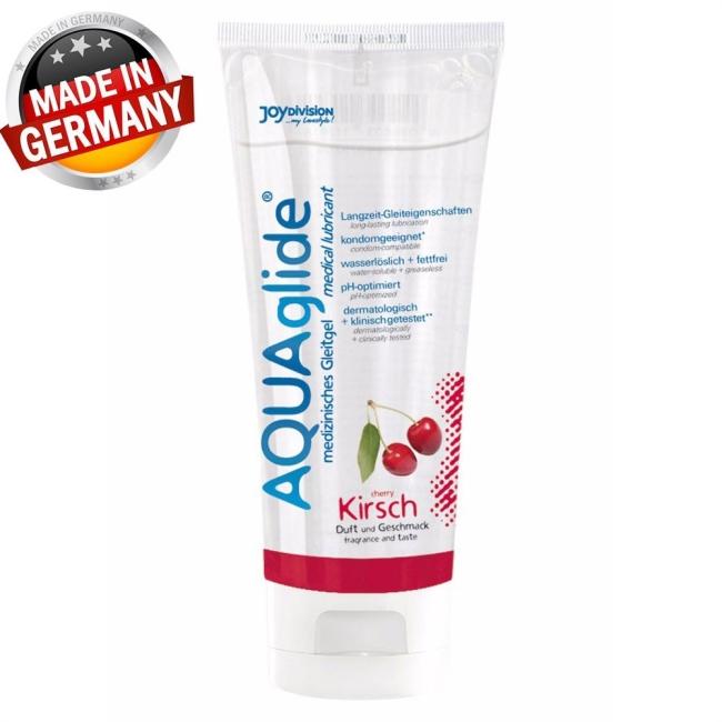 Aqua Glide 100 Ml Kirazlı Kayganlaştırıcı Jel Made İn Germany