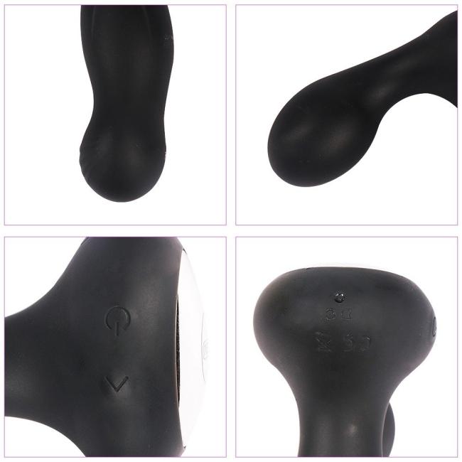 Beryl 10 Modlu Titreşimli Kumandalı Prostat Vibratör ve Anal Plug