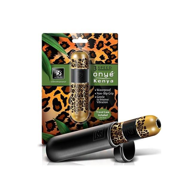 Big Teaze Toys Kenya Leopar Desenli Mini Vibratör