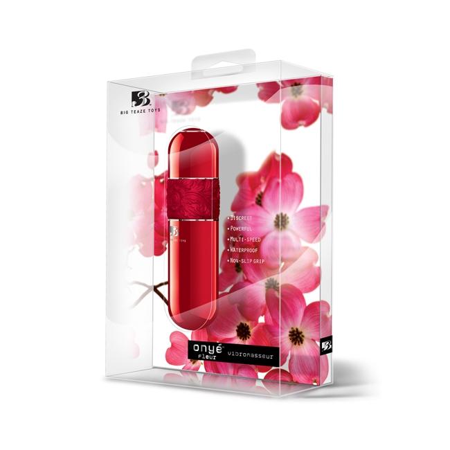 Big Teaze Toys Kırmızı Mini Vibratör