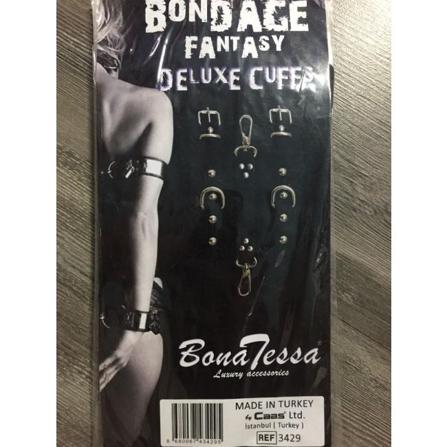 Bono Tessa Bondage Fantasy Deluxe Cuffs