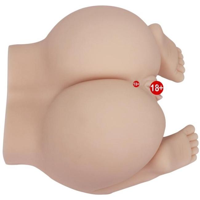 Buttock 2 İşlevli Kullanılabilen Vajina Mastürbatör