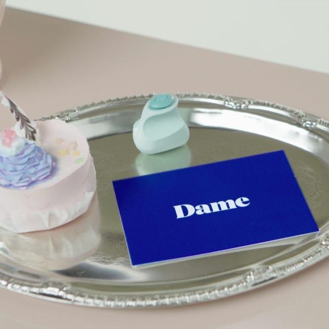 Dame Products Fin Finger Vibratör Jade Güçlü Parmak Arası Vibratör