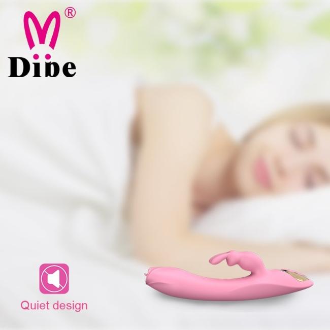 Dibe 7 Modlu Titreşimli G-Spot ve Klitoris Uyarıcı Dil Hareketi Yapabilen Vibratör