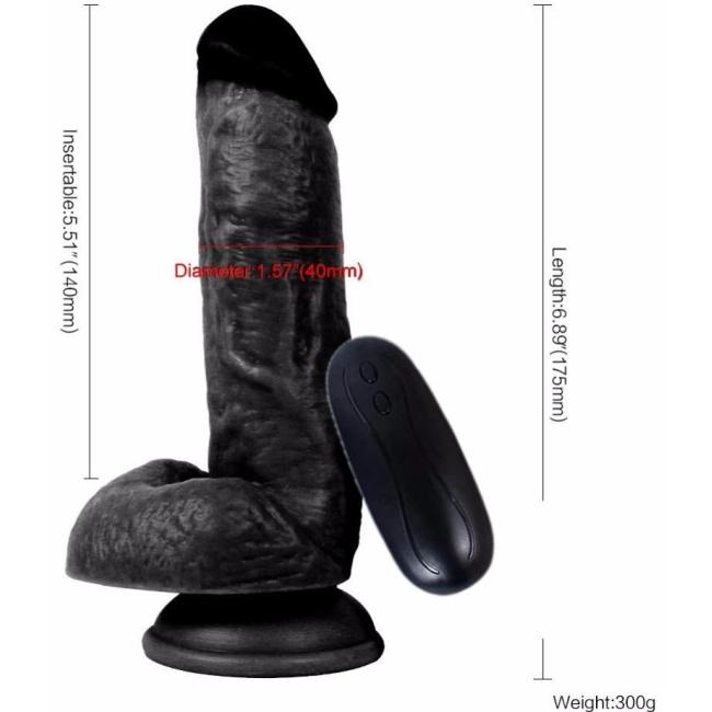 Dildo Series 15 Cm 10 Modlu Belden Bağlamalı Titreşimli Realistik Penis