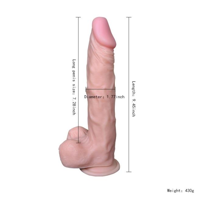 Dildo Series Victory Hero 22 Cm Belden Bağlamalı Penis