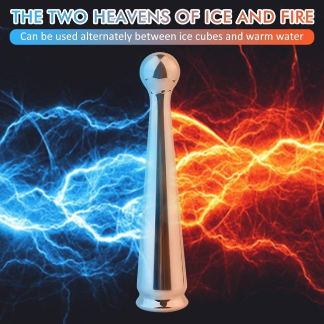 Dipsy G-Spot ve Klitoris Uyarıcı 9 Modlu Titreşimli Şarjlı Metal Vibratör
