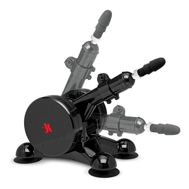 Doc Johson Fucking Machine + UltraSkyn Vac-u Lock Makine Uyumlu Penis Seti
