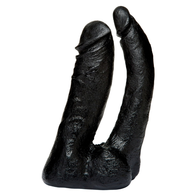 Doc Jonhson Doğal Çift Taraflı  Siyah Realistik Penis Made İn USA