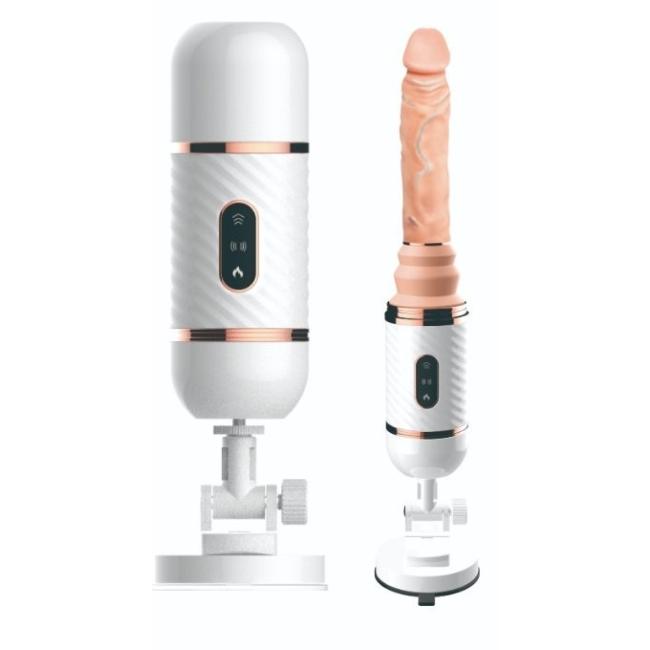 Fire Kumandalı Gidip Gelmeli Titreşimli Sıcaklık Seks Makinesi