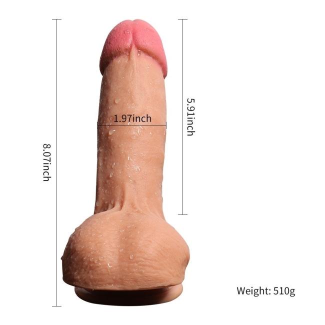 Firefly 20 cm Çift Katman Ekstra Yumuşak Belden Bağlamalı Penis