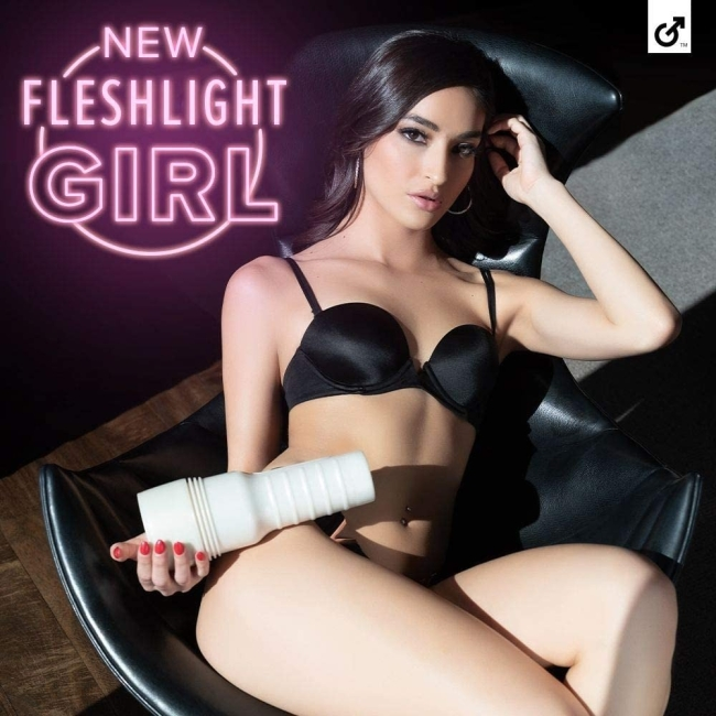Fleshlight Girls Emily Willis Squirt Özel Kanal Dokulu Vajina Mastürbatör