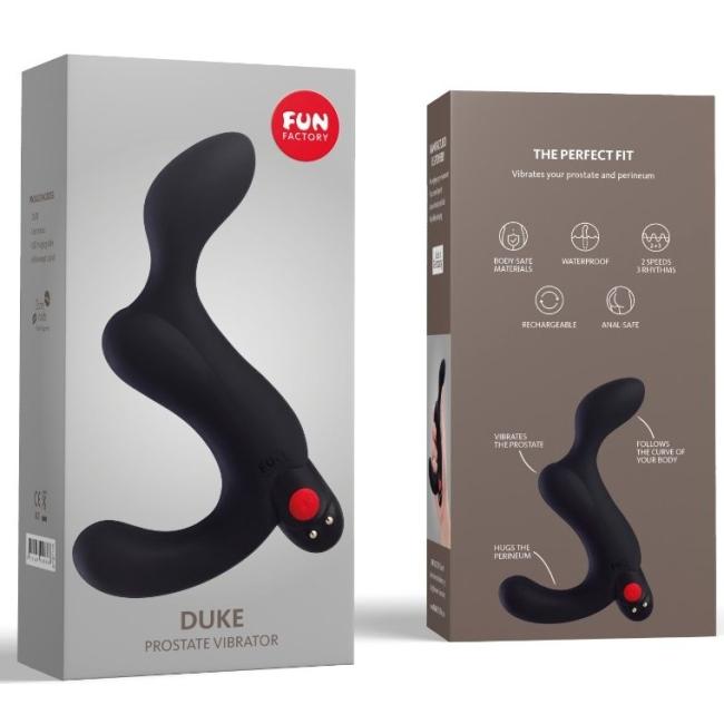 Fun Factory Duke 3 Titreşim Modlu Prostat Uyarıcı Vibratör Made İn Germany