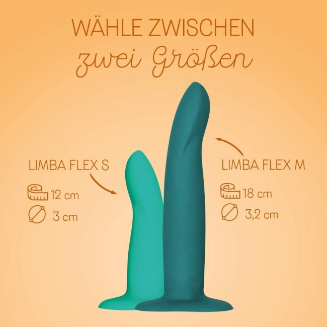 Fun Factory Limba Flex M Bükülüp Şekil Alabilen 18 Cm Realistik Dildo Made İn Germany