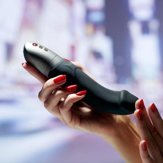 Fun Factory Mr. Boss Ultra Güçlü Lüks Siyah Vibratör Made İn Germany