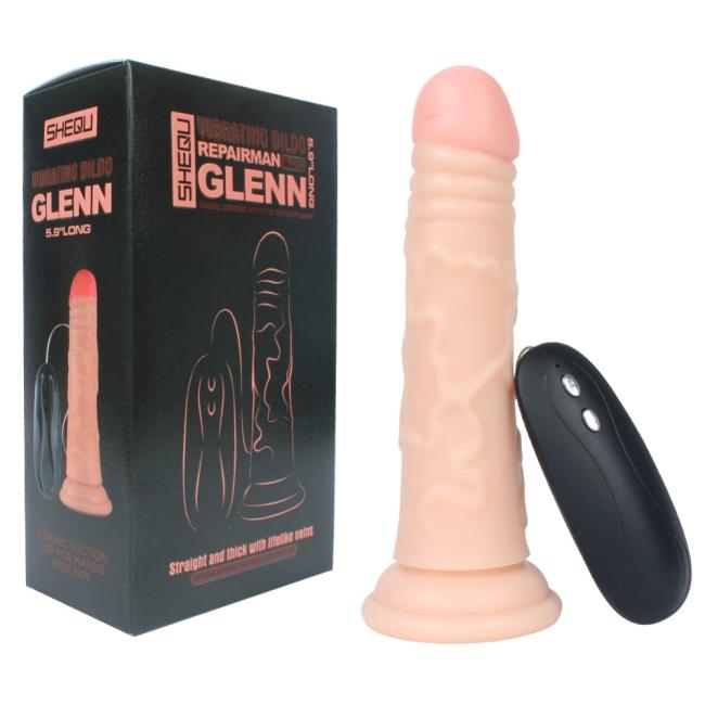 Gln 14 Cm Anal ve Vajinal Kullanılabilen 20 Modlu Titreşim Penis
