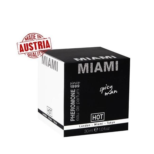 Hot Man Erkekler Özel Parfüm Miami 30 ML