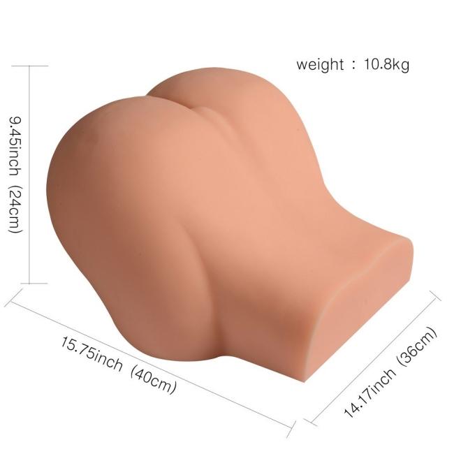 Huge Solid Full Silikon 8,8 Kg Kalça Vajina Mastürbatör