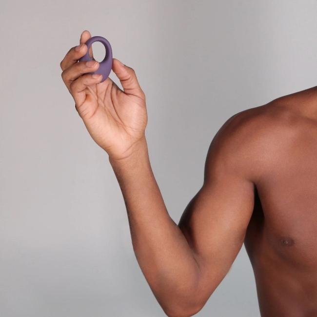 Je Joue Mio 5 Hız ve 5 Modlu Güçlü Titreşimli Mor Penis Halkası