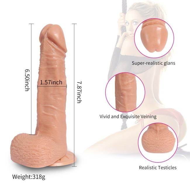 Kaier Telescopic Gidip Gelmeli Usb Şarjlı Belden Bağlamalı Realistik Penis