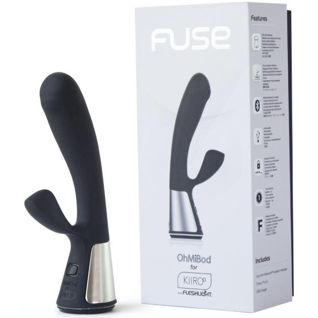 Kiiroo OhMiBod Telefon Uyumlu G-spot ve Klitoris Uyarıcı Şarjlı Lüks Vibratör