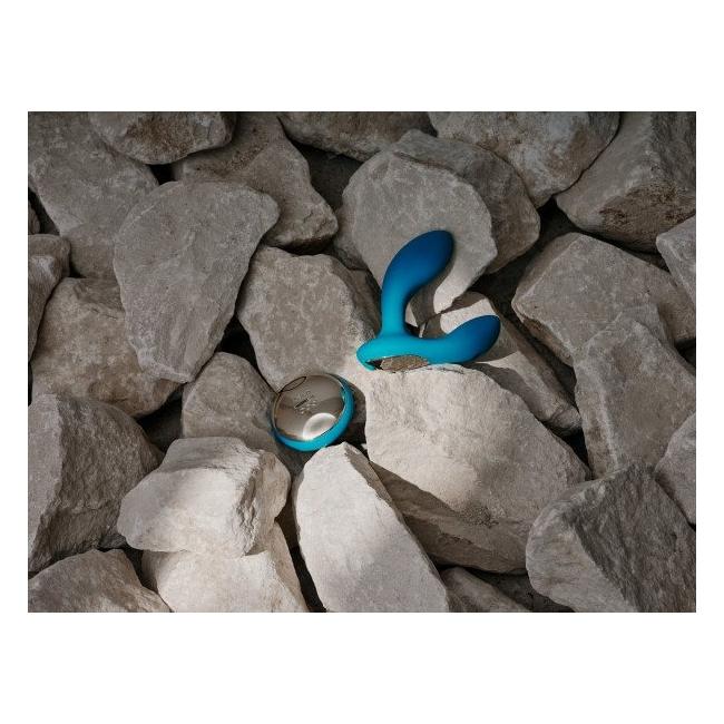 Lelo Hugo Ocean Blue Prostat Uyarıcı Kumandalı Ultra Lüks Vibratör