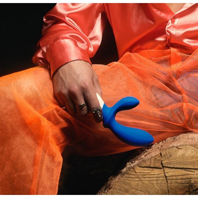 Lelo Loki Wawe Federal Blue Ultra Lüks Prostat Uyarıcı Vibratör