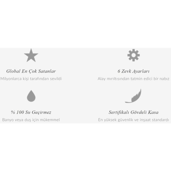 Lelo Mona 2 Ultra Güçlü 6 Modlu Titreşimli G-Spot Masaj Vibratörü