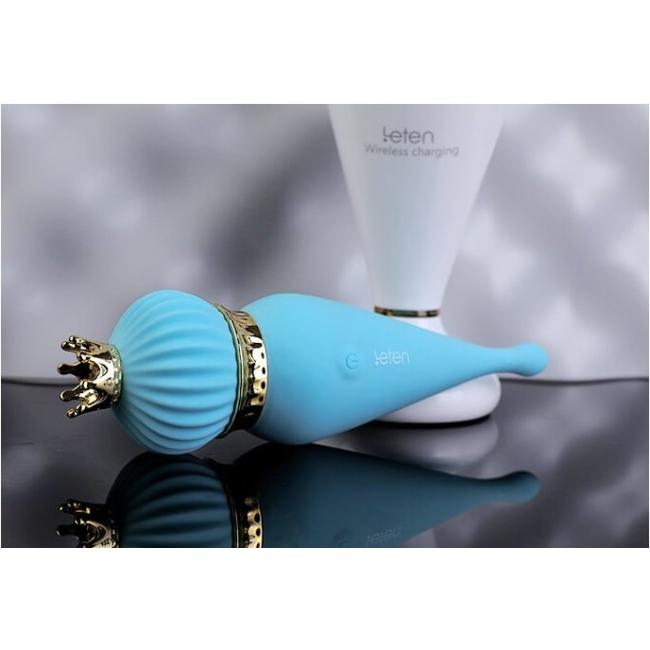 Leten Klitoris Uyarıcı 10 Modlu Titreşimli Şarjlı Su Geçirmez Vibratör