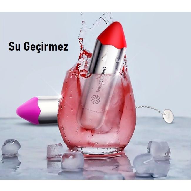 Leten Lipstick 7 Modlu Titreşimli Ruj Tasarımlı Masaj Vibratörü