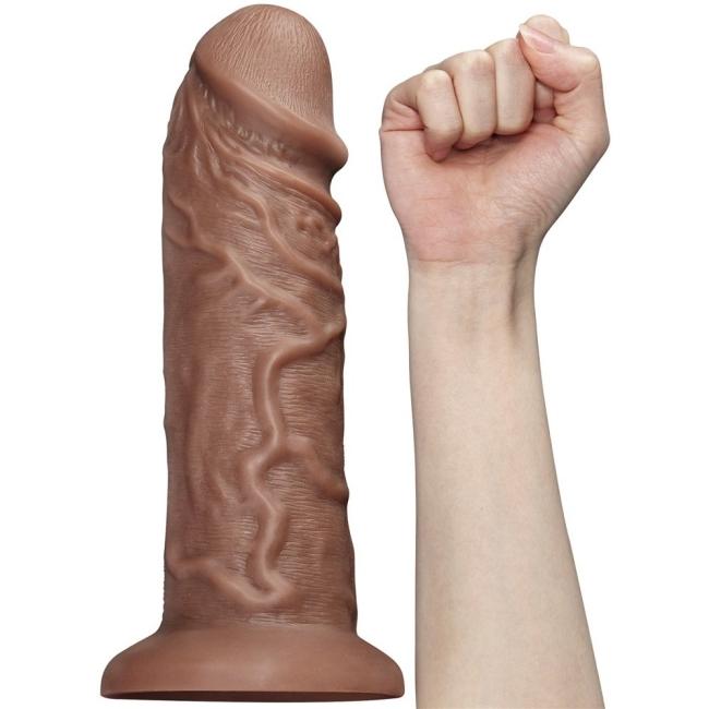 Love Toy Ekstra Gerçekci 10 Modlu Titreşimli Realistik Ultra Kalın Penis