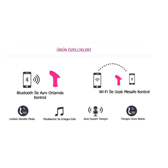 Lovense Ambi Çok Yönlü Telefon Uyumlu Vibratör
