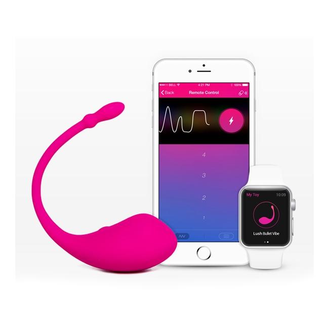 Lovense Lush Mini Vibratör Akıllı Telefon&Saat Uyumlu