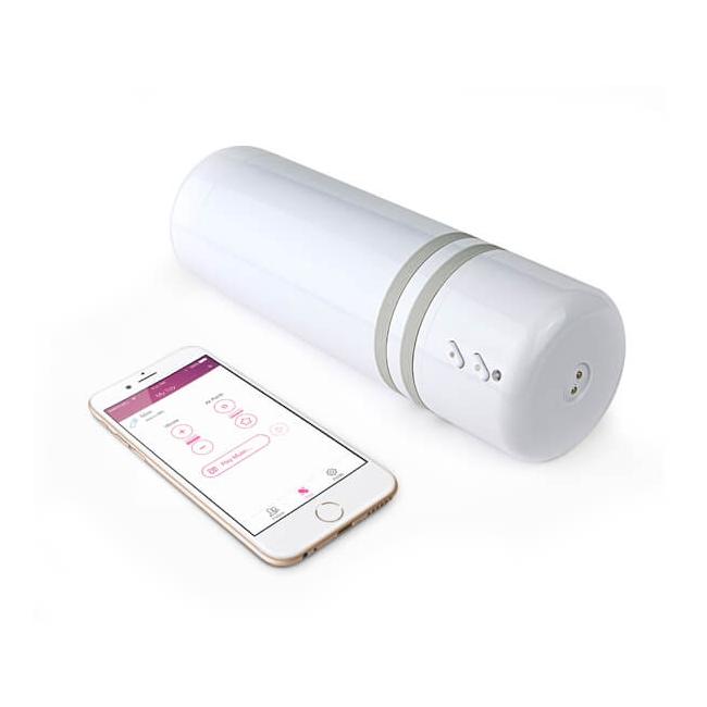Lovense Max Titreşim&Hava Pompası Telefondan Kontrol Edilebilen Mastürbatör