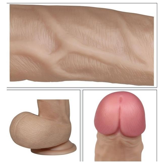 Lovetoy Real Extreme Serisi 23 cm Titreşimli Realistik Penis