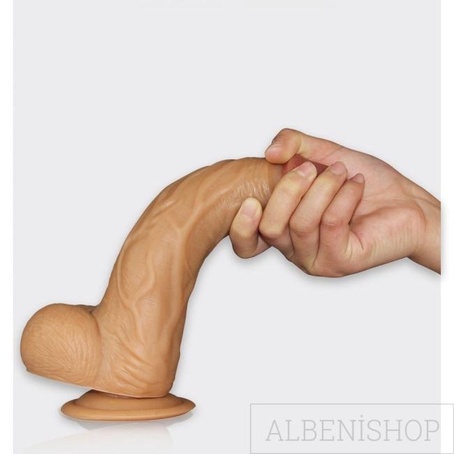 Lovetoy Real Extreme Serisi 21 cm Belden Bağlamalı Realistik Penis