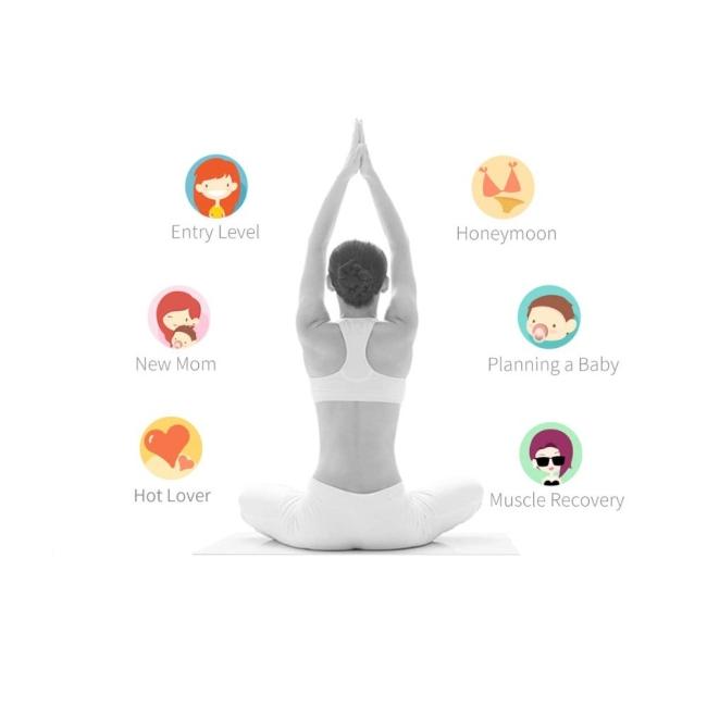 Magic Motion Kegel Gen 2 Telefon Kontrollü ve Giyilebilen Egzersiz Ustası Kegel Topları