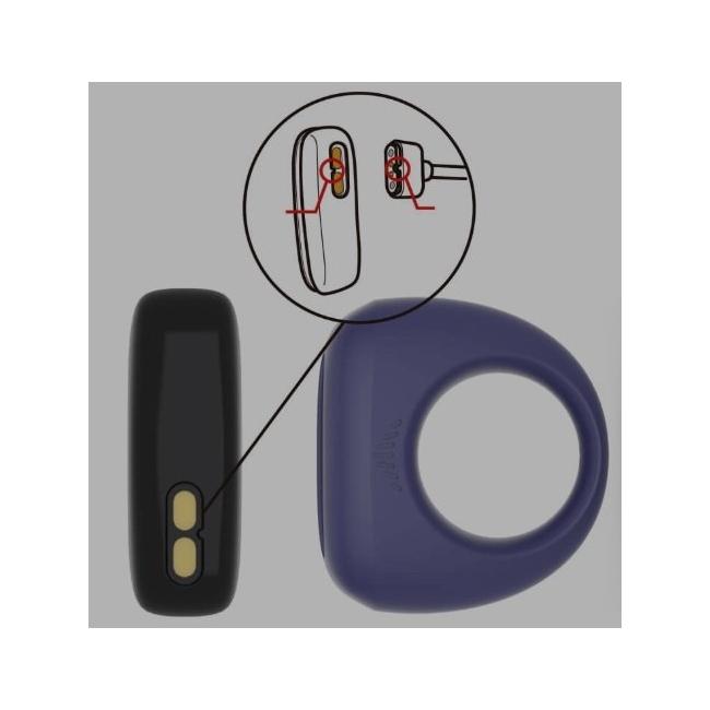 Magic Motion - Dante Smart Telefon Kontrol Şarjlı Penis Halkası