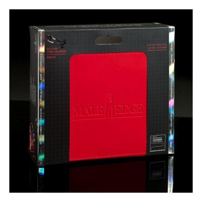 Male Edge - Extra Retail Red & Black Serisi Penis İçin Cihaz