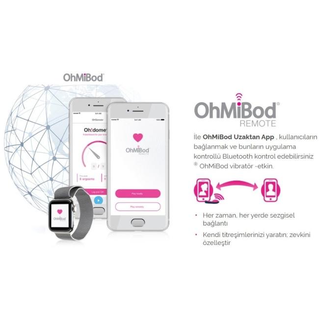 OhMiBod Nex 1(2.Nesil) Akıllı Telefondan Kontrol Edilebilen Vibratör