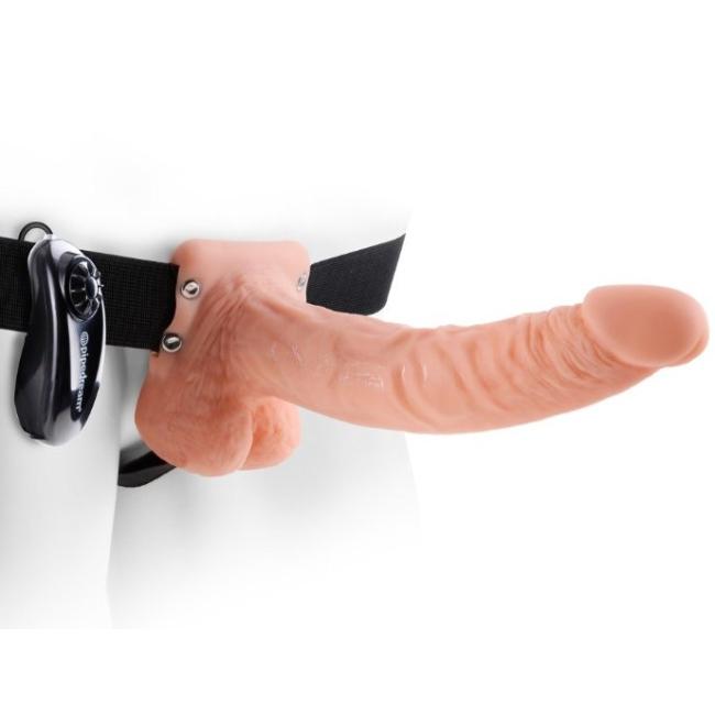 Pipedream 23 Cm Titreşimli İçi Boş Realistik Penis Made in Usa