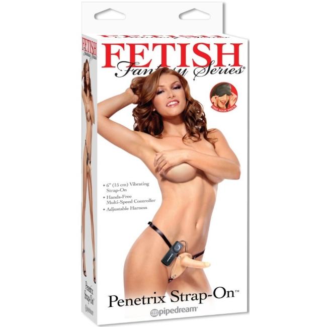 Pipedream Beginners Penetrix Titreşimli Strap-On Kemerli Anal Penis