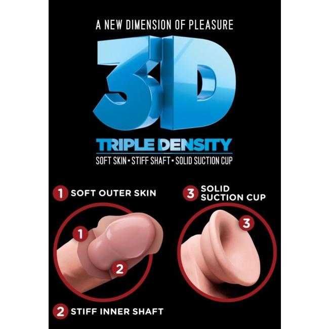 Pipedream King Cock Triple Density w.Balls 33 Cm Dev Realistik Penis
