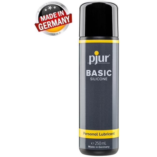 Pjur Basic Slikon Bazlı 250 Ml Kayganlaştırıcı Jel