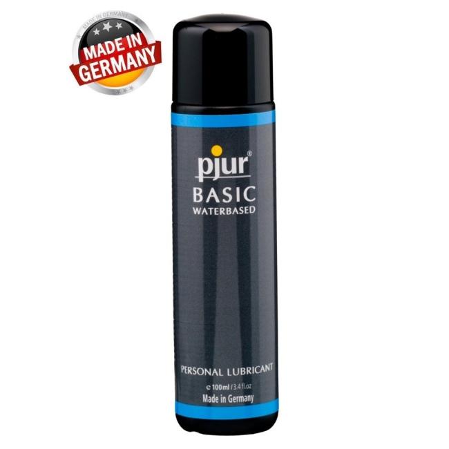 Pjur Basic Waterbased 100 Ml Su Bazlı Kayganlaştırıcı Jel